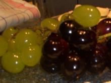 Tipps-Weintrauben mit Glanz - Rezept