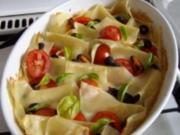 Tomaten-Mozarella-Gratin - Rezept