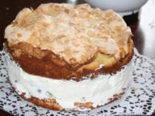 Stachelbeer - Baiser - Torte - Rezept