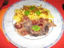 Sauerbraten mit Sauerkirsch-Steinpilz-Soße meine Art - Rezept