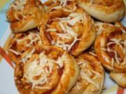 Pizzaschnecken - Rezept