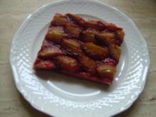 Pflaumenkuchen auf Hefe - Rezept