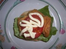 Backfisch-Burger - Rezept