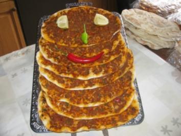 Rezept: MEIN LAHMACUN  -  Türkische Pizza