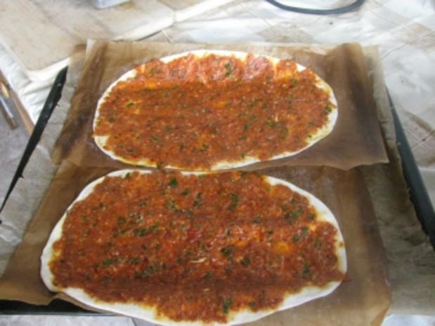 MEIN LAHMACUN  -  Türkische Pizza - Rezept - Bild Nr. 4