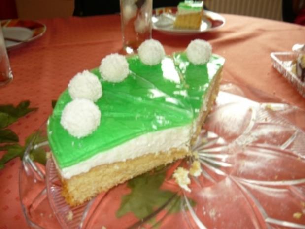 Waldmeister-Kokos Torte - Rezept - Bild Nr. 2