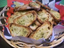 Brot Chips - Rezept