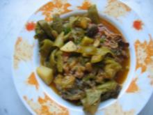 Gemüseeintopf mit Kalbfleisch nach meiner Art - Rezept