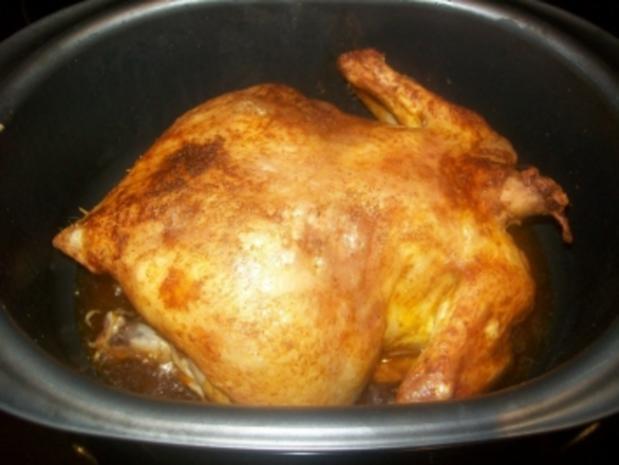 schnelles gebratenes Hähnchen - Rezept
