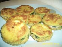 Panierte Zucchinitaler - Rezept
