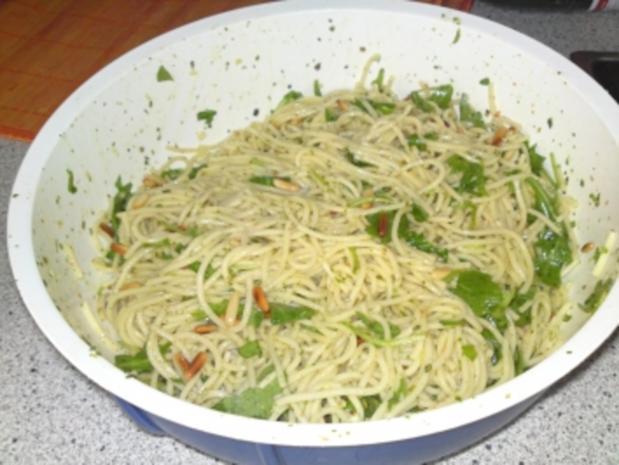einfacher Spaghettisalat - Rezept - Bild Nr. 2