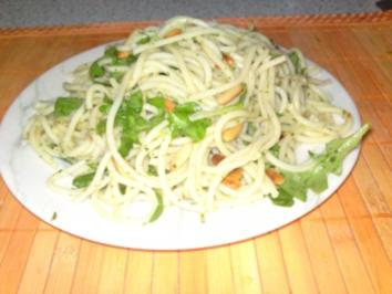 einfacher Spaghettisalat - Rezept