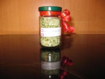 Kräuter - Salz - Rezept