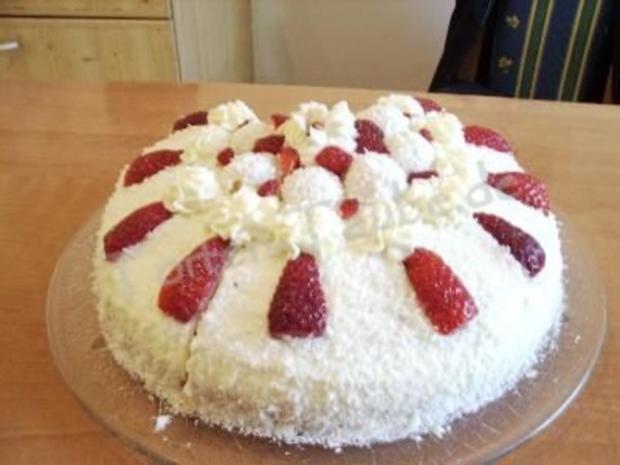 Erdbeer Raffaello Torte Rezept Mit Bild Kochbar De