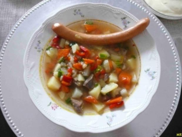 Suppen - Gemüseeintopf - Rezept