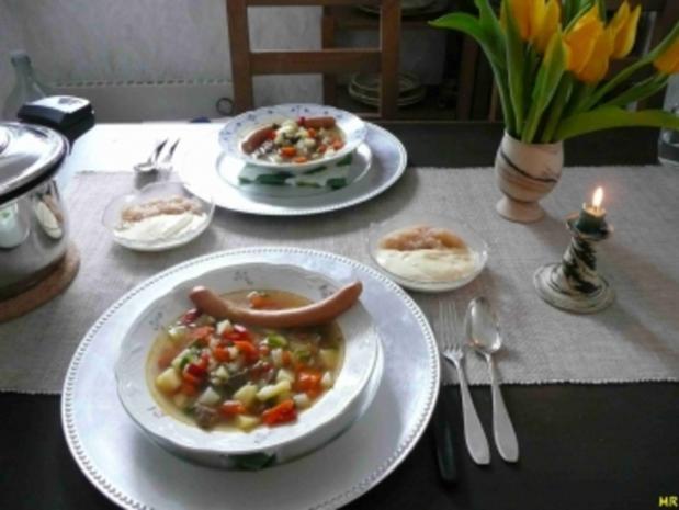 Suppen - Gemüseeintopf - Rezept - Bild Nr. 4