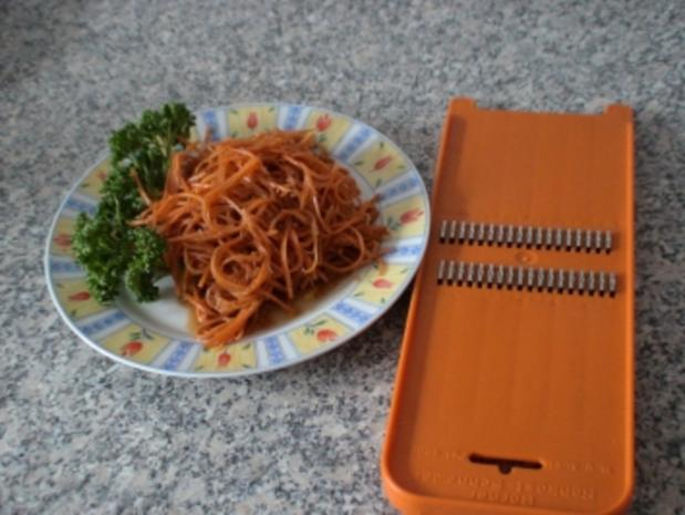 Karotten auf koreanische Art - Rezept