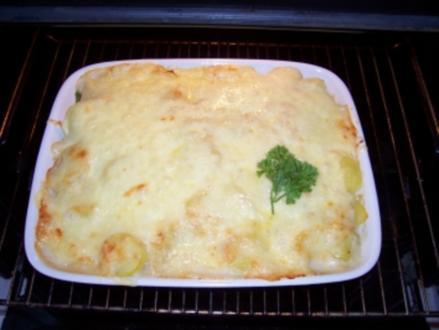 Auflauf - von Zucchini-Kartoffel-Gemüse - Rezept