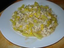 Reispfanne mit Bohnen und Mais - Rezept