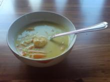 Kokos-Reis Suppe - Rezept