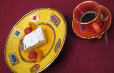 Crostata con mandorle e Ricotta e espresso originale - Rezept