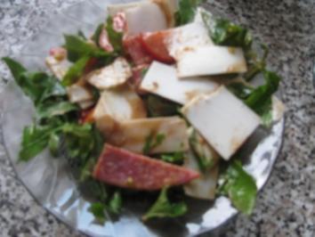 Tomaten Rukula Salat - Rezept