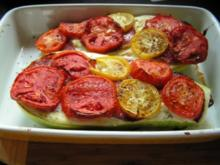Gefüllter Zucchini - Rezept