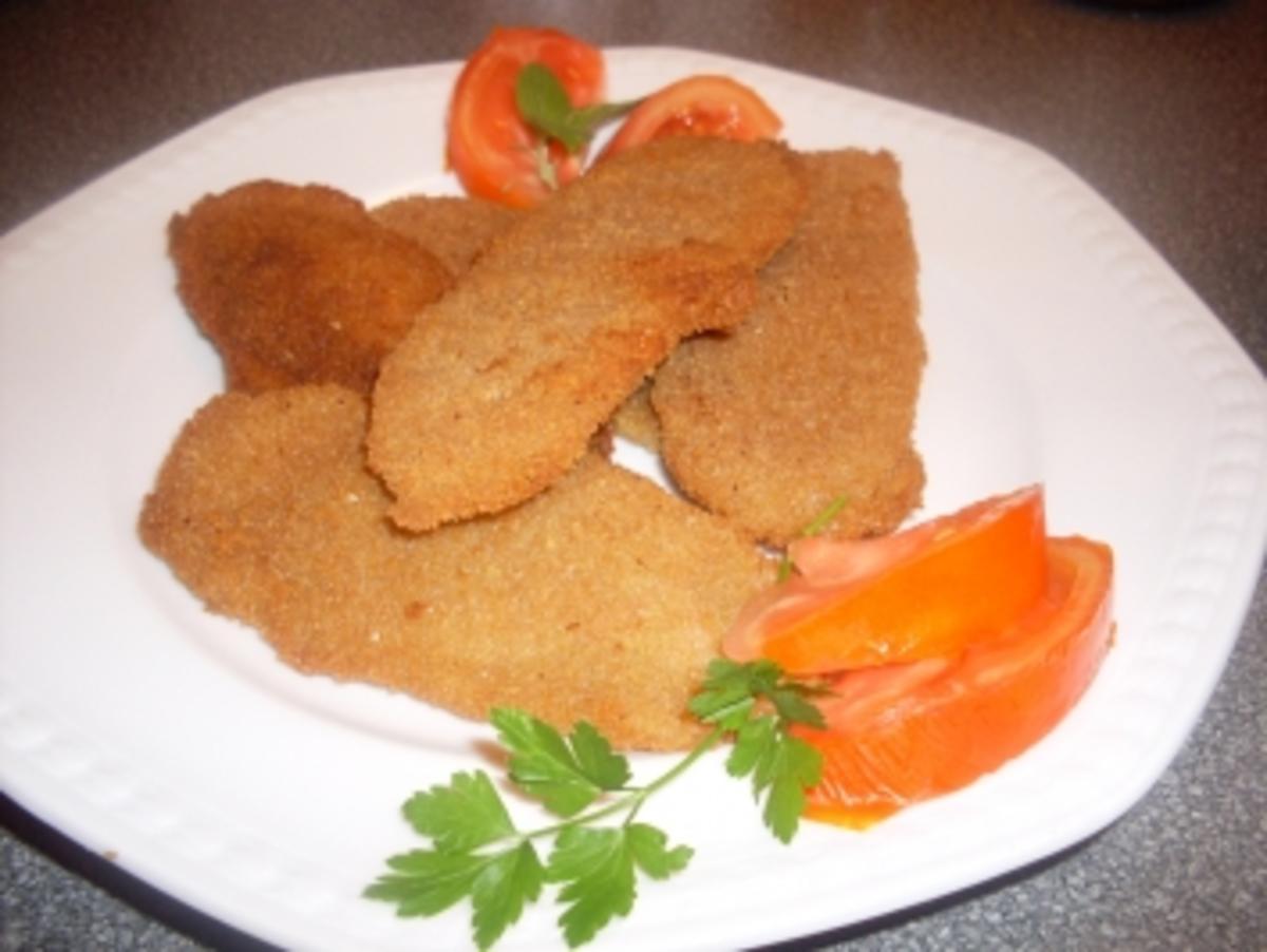 Bilder für Panierte Kartoffelscheiben - Rezept