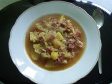 Krautsuppe mit Paprikawurst - Rezept