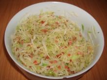 Bayerischer Krautsalat - Rezept