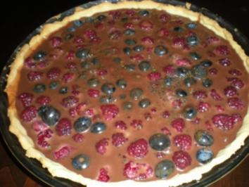 Noisette-Beeren-Pie - Rezept