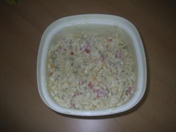 Salat -  Nudelsalat - Rezept
