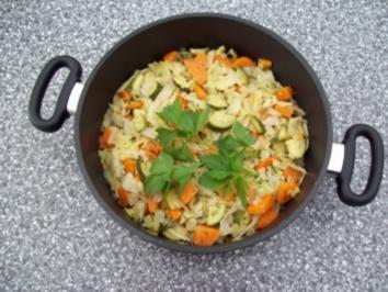 Gemüse bunt gemischt - Rezept