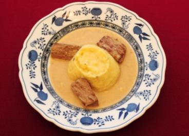 Rinderfilet an getrüffeltem Kartoffelpüree (Pierre Brice) - Rezept
