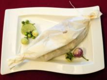 Edelfisch in der Papilot auf mediterranem Kräutergemüse (Davorka Tovilo) - Rezept