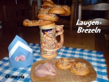 Kleingebäck  Laugen-Brezeln - Rezept