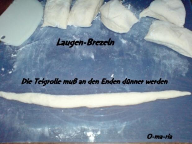 Kleingebäck  Laugen-Brezeln - Rezept - Bild Nr. 3