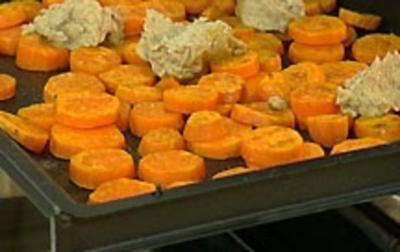 Rezept: Süßkartoffel-Backkartoffel mit 5-Spice-Butter