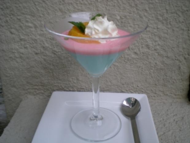 Desserttraum in blau - Rezept