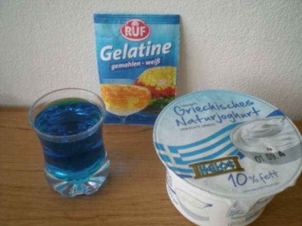 Desserttraum in blau - Rezept - Bild Nr. 2