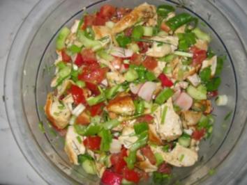 Hähnchensalat NR.2 - Rezept
