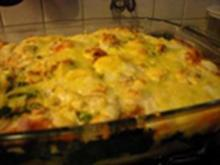 Nudel - Spinat - Käse - Auflauf - Rezept