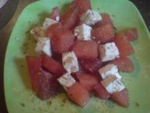 """Salat """"Melonen-Feta-Salat"""" - Rezept"""