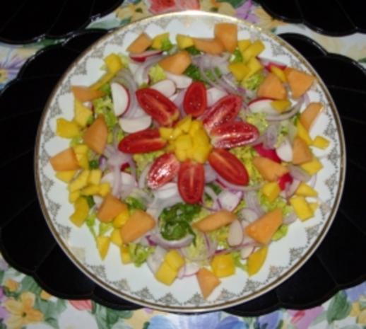 Abendlicher Sommer-Salat mit Pfiff - Rezept - Bild Nr. 6