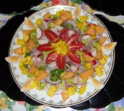 Abendlicher Sommer-Salat mit Pfiff - Rezept - Bild Nr. 7