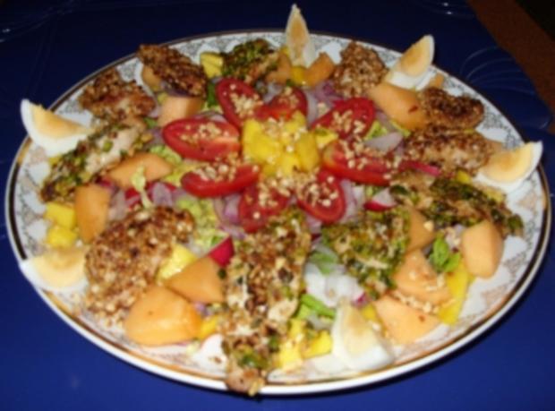 Abendlicher Sommer-Salat mit Pfiff - Rezept