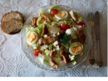 Avocado- Salat mit Putenstreifen - Rezept