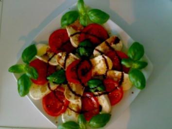 ** Salate ** Insalata Caprese - Rezept