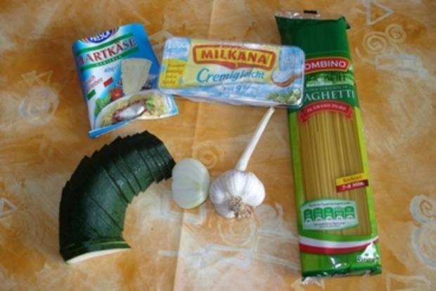 Mein Mann mag keine Zucchini, aber ich!! - Rezept