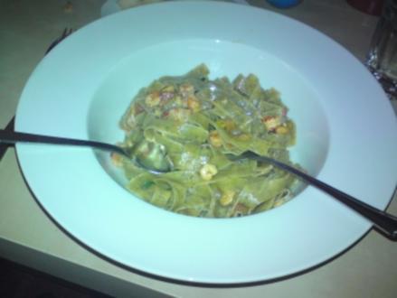 Pasta mit Flusskrebsen - Rezept